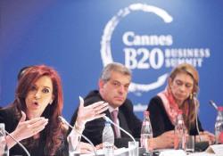 Cristina Fernández de Kitchner habla en el G20