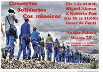 Concertos solidarios cos mineiros. Orzán