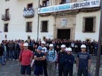 Mineros en Cangas de Narcea