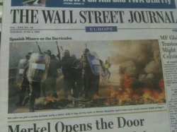 Mineros portada Wall Street Journal