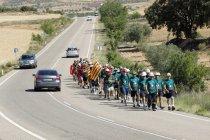 Mineros que salieron de Andorra (Teruel)