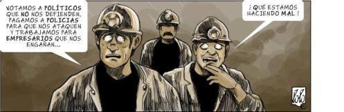 Votamos a políticos que no nos defienden, pagamos a policías para que nos ataquen y trabajamos para empresarios que nos engañan ... ¿Qué estamos haciendo mal?