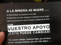 Si la mineria se muere ...