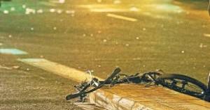 La bici de rebeca, destrozada (Foto: diarioinformacion)