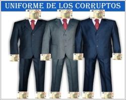 Uniforme de los corruptos